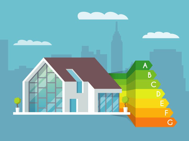 Les 7 classes du Diagnostic de performance énergétique
